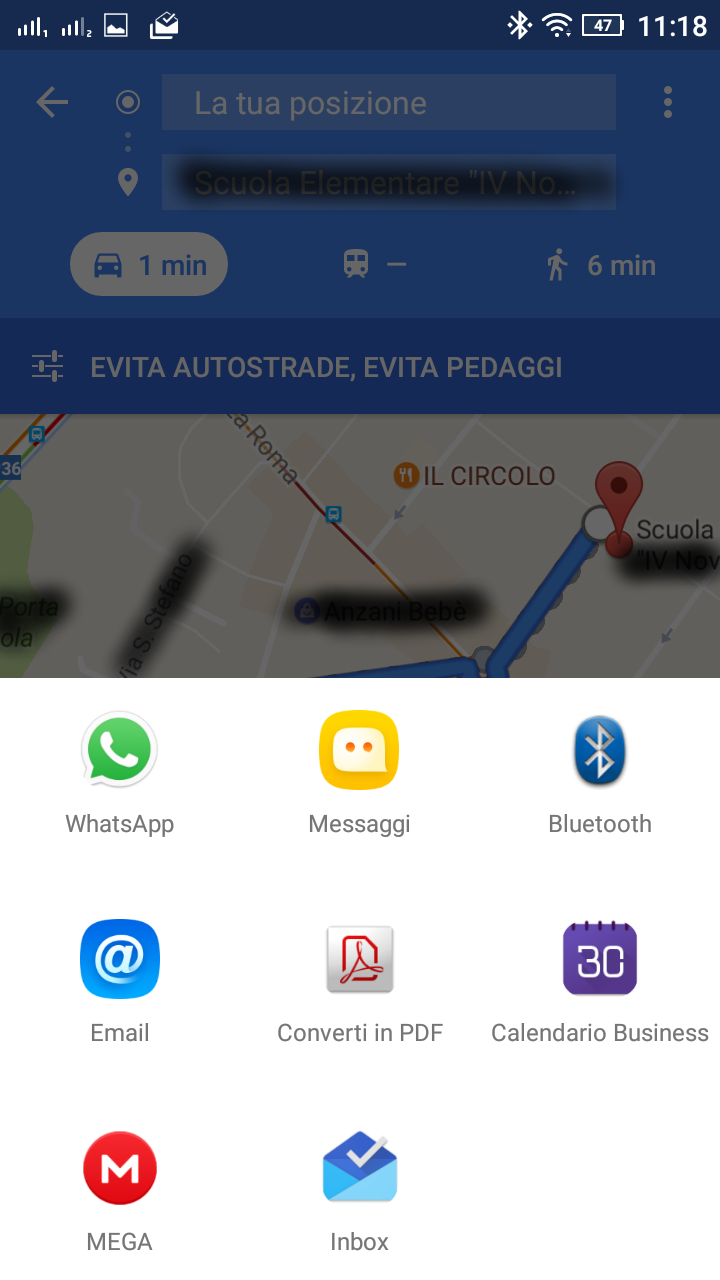 google maps con quale app