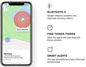 traker bluetooth app