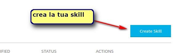 crea skill alexa