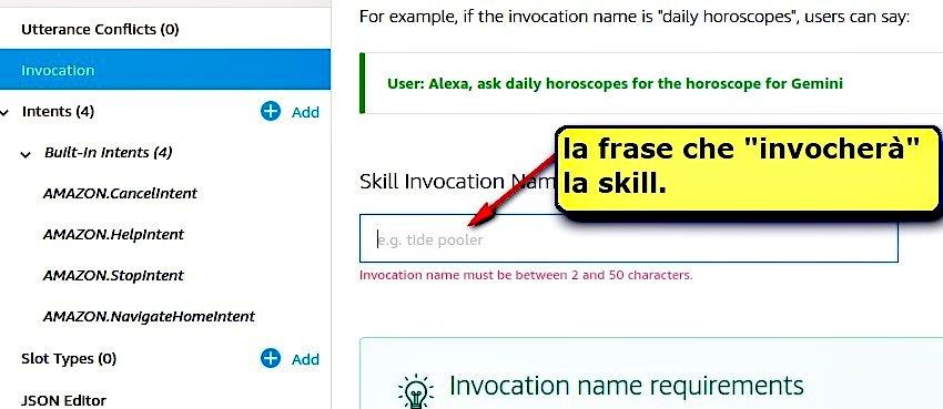 invocation skill