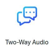 tapo c200 two way audio